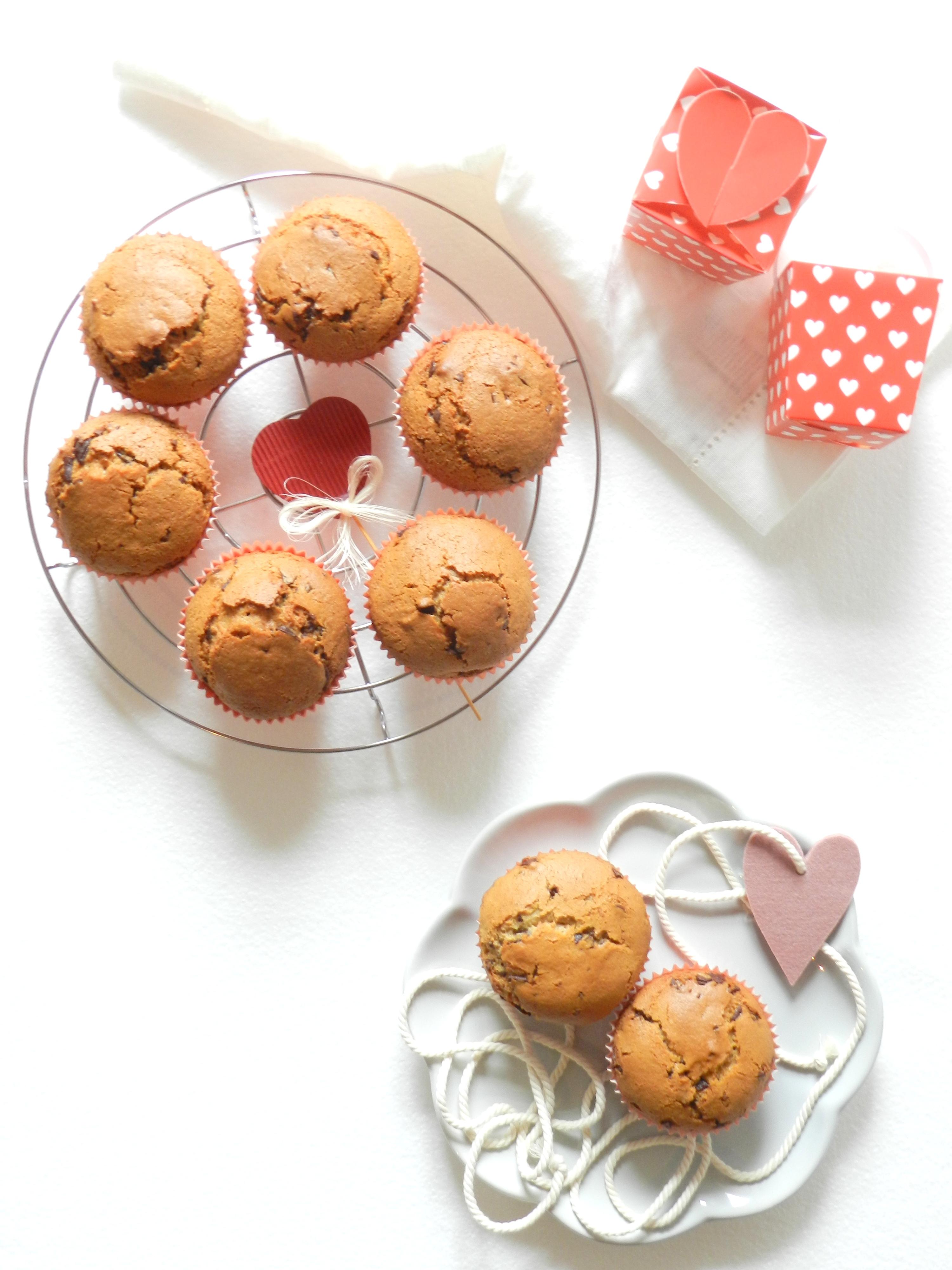 muffin in love - MUFFIN al cioccolato e burro di arachidi