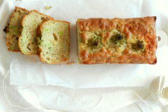 Plumcake salato con broccolo romanesco e scamorza affumicata