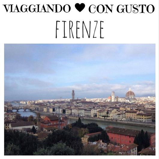 Viaggiando con Gusto Firenze