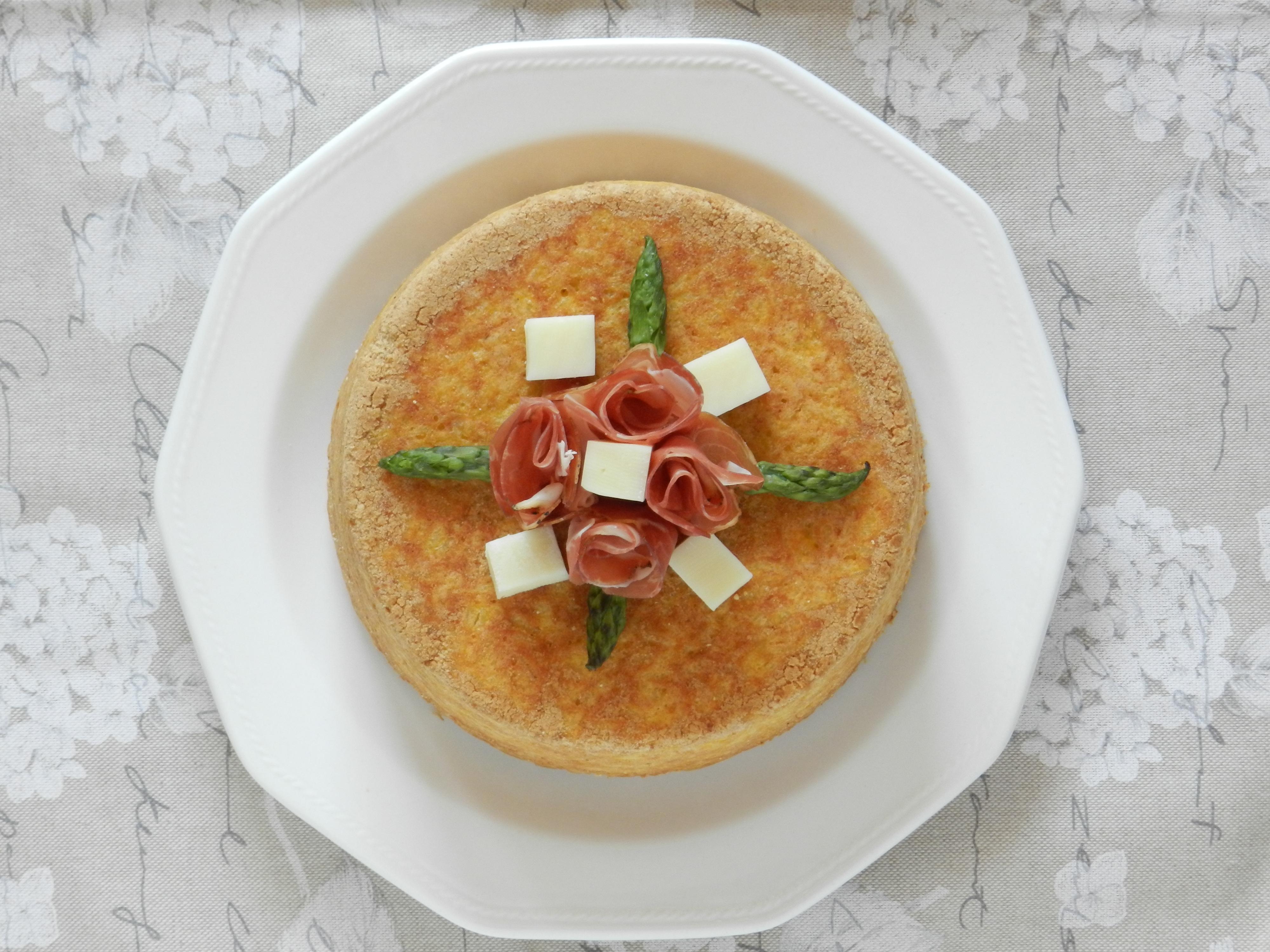Sartù di riso con Asparagi, Porri e Pecorino romano MTC65