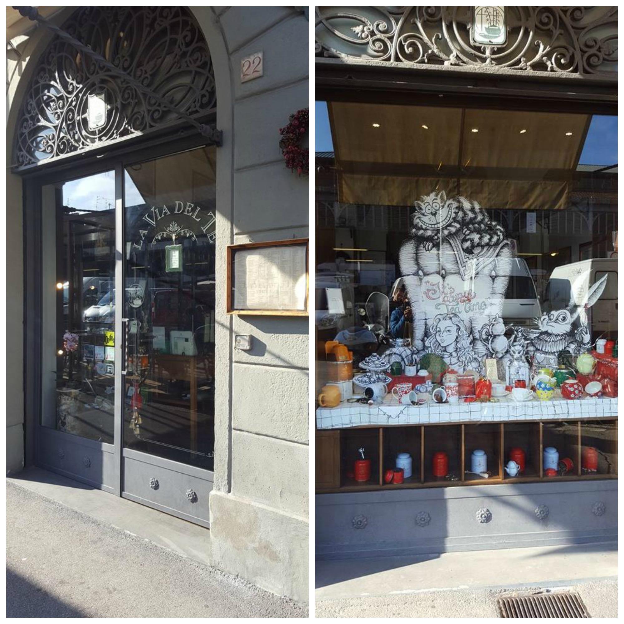 GustiAMO FIRENZE: Dove mangiare a Firenze La Via del tè - Firenze