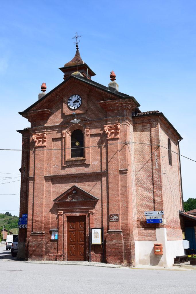 TAPPA 1: VEZZA D'ALBA – Strada Romantica delle Langhe & del Roero La Chiesa di San Carlo
