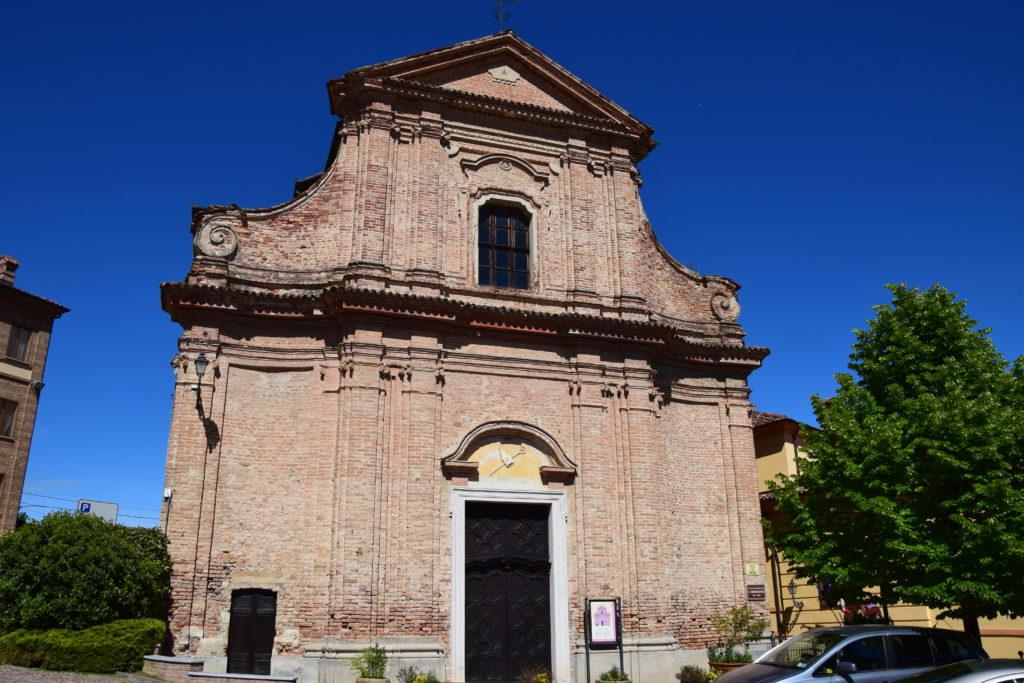 TAPPA 1: VEZZA D'ALBA – Strada Romantica delle Langhe & del Roero Chiesa di San Bernardino
