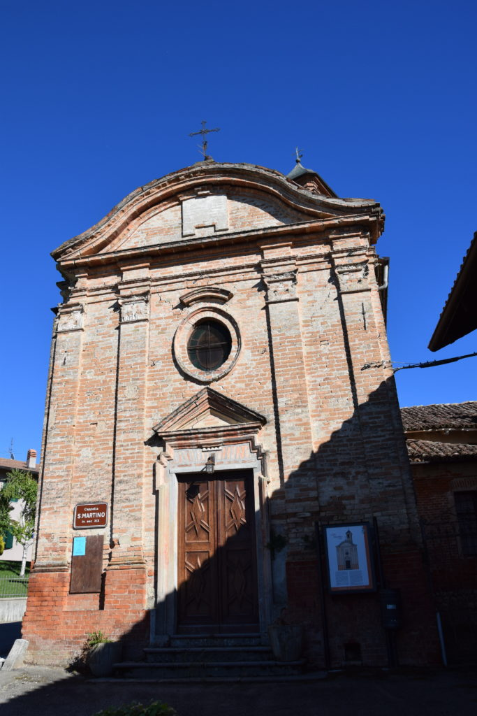 TAPPA 1: VEZZA D'ALBA – Strada Romantica delle Langhe & del Roero Chiesa di S. Martino di Socco