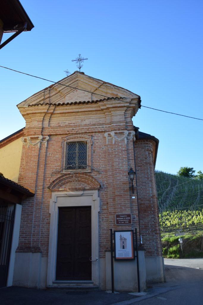 TAPPA 1: VEZZA D'ALBA – Strada Romantica delle Langhe & del Roero Chiesa della Madonna d'Oropa e S. Pancrazio