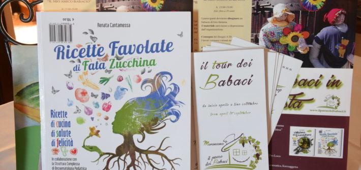 """PRESENTAZIONE DEL LIBRO """"Il mistero del Grandalbero - Ricette favolate di Fata Zucchina"""" di Renata Cantamessa"""
