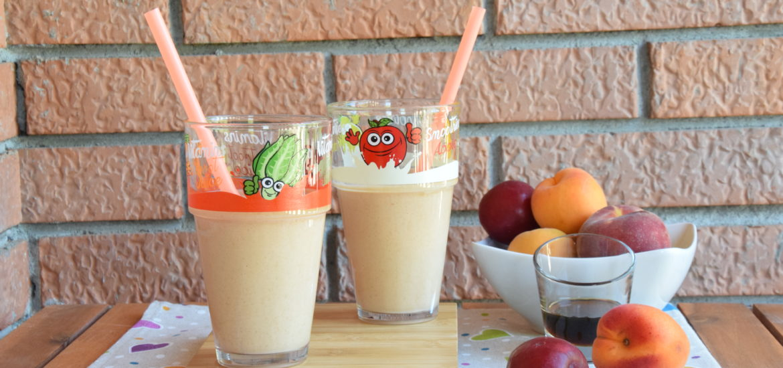 Frullato di inizio Estate al Latte e Frutta fresca
