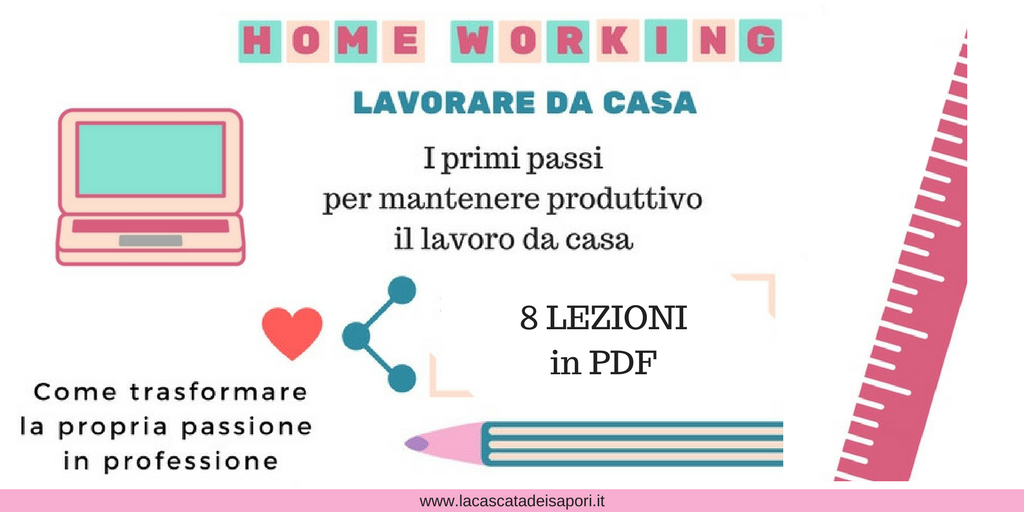 Home Working Lavorare da casa PDF