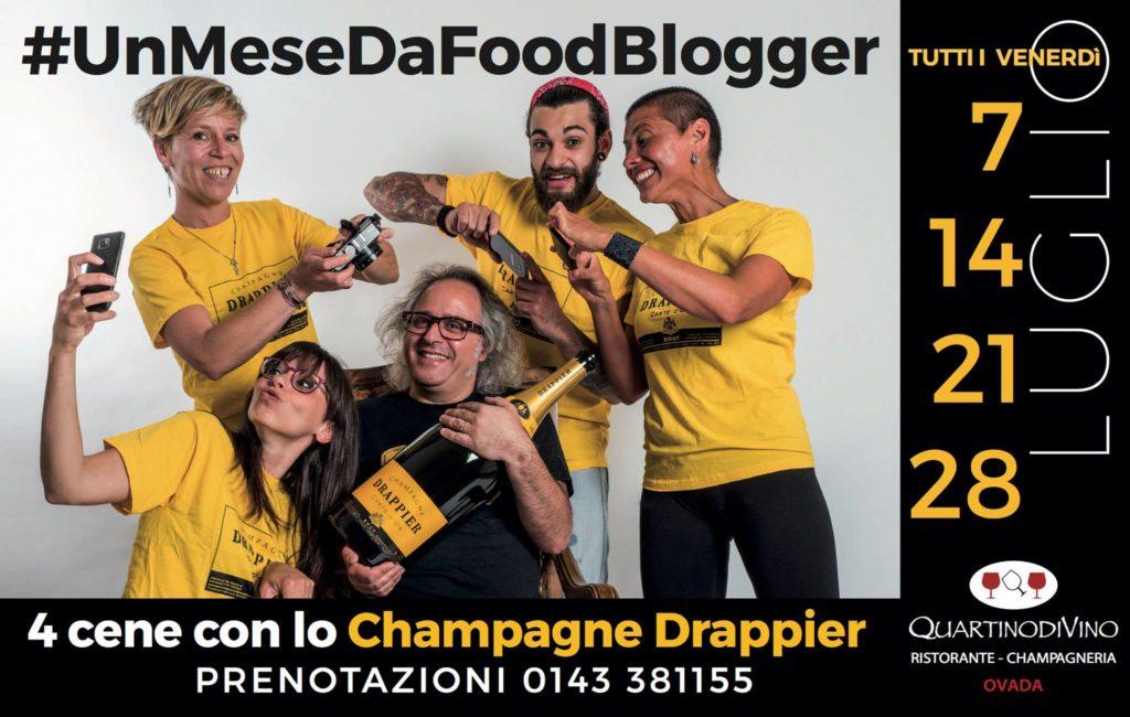 Il mio Menù per #UnMeseDaFoodBlogger