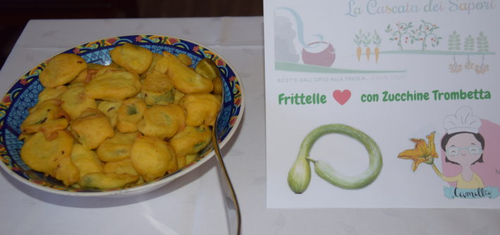 Frittelle con zucchine trombetta di Fata Zucchina