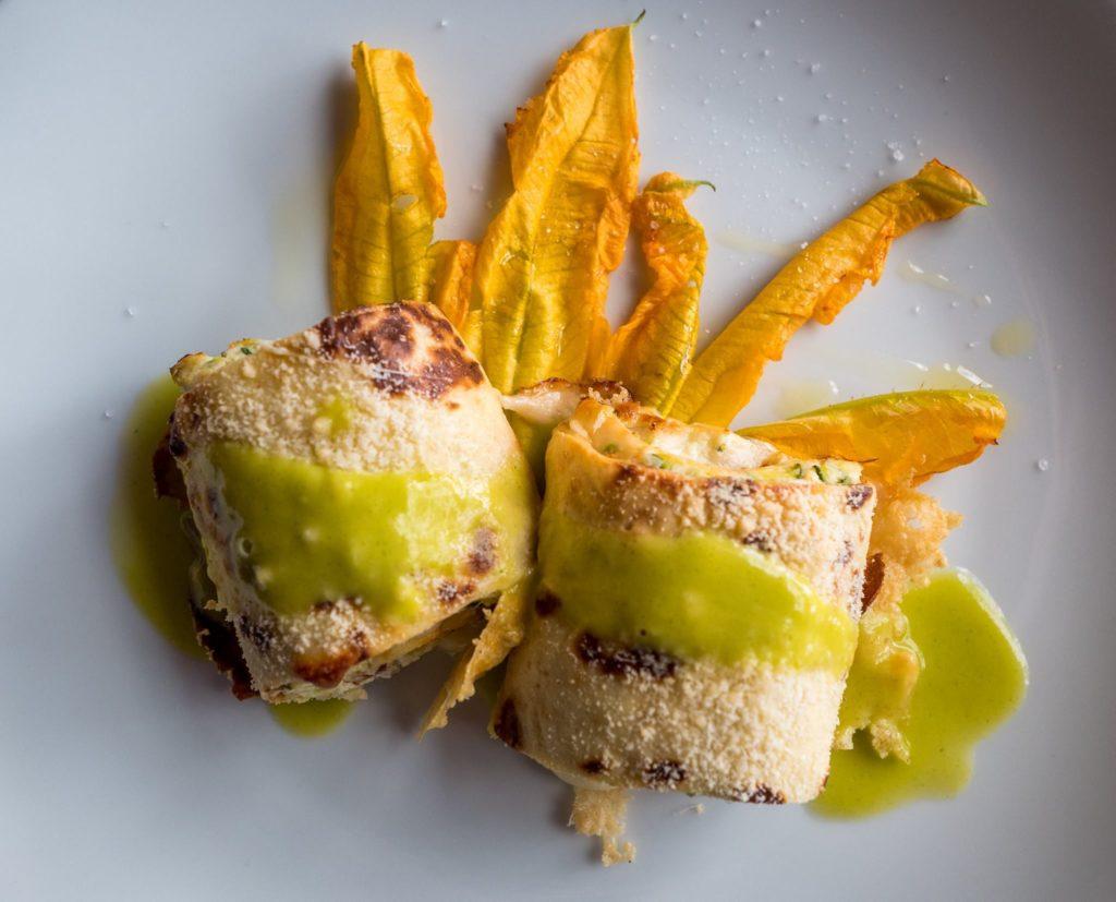Rotoli di crêpes con zucchine e scamorza #UnMeseDaFoodBlogger