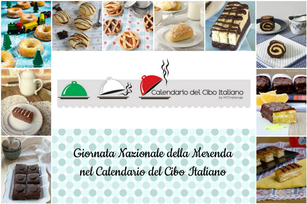 Giornata Nazionale della Merenda nel Calendario del Cibo Italiano
