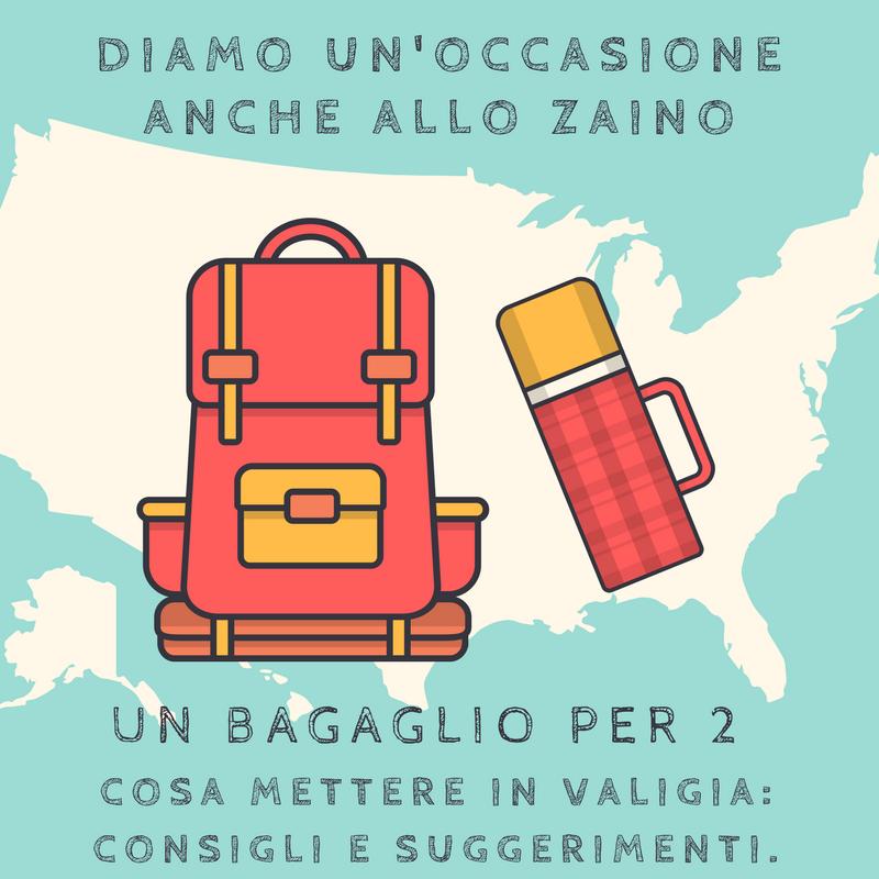 Un bagaglio per 2. Cosa mettere in valigia- consigli e suggerimenti.
