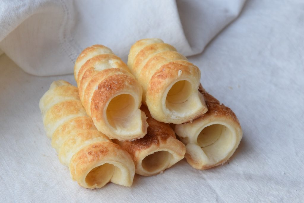 Cannoli dolci di pasta sfoglia MTC 68