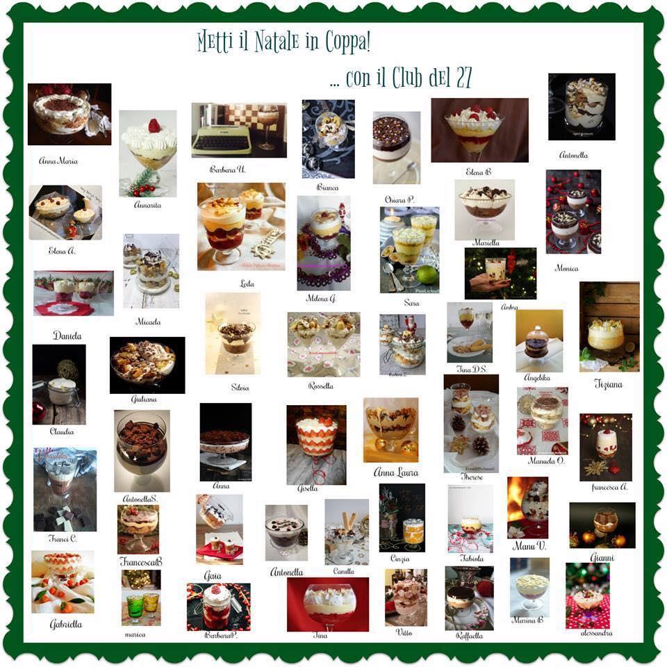 L'Avvento dei Trifle per l'MTC Gordon's Christmas Trifle La Cascata dei Sapori
