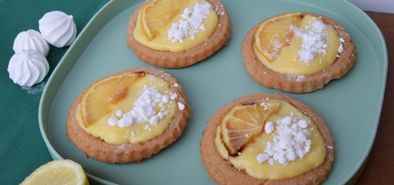 Crostatine integrali morbide al profumo di bergamotto