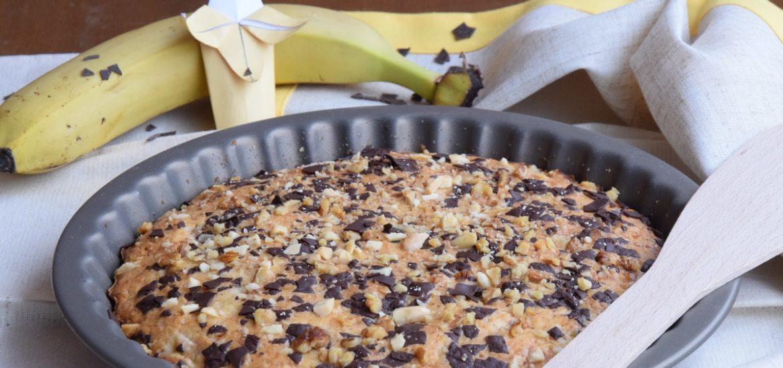 La mia Banana-Chocolate Chip Wacky Cake per il Club del 27