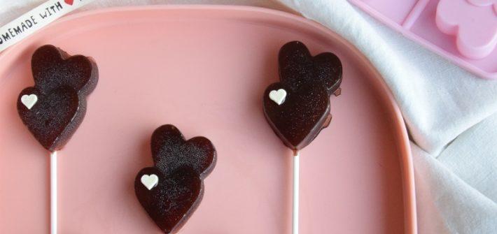 Lecca Lecca a forma di Cuore. Ricetta Last Minute per San Valentino