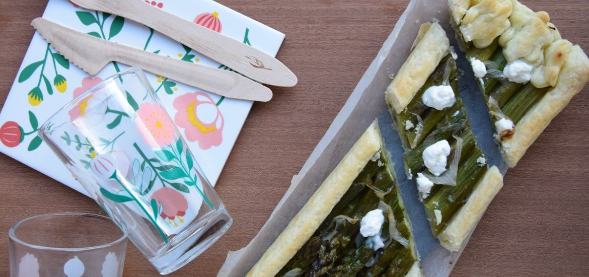 Il mio Asparagus and Goat Cheese Tart per il Club del 27
