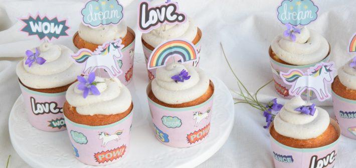 Unicorn Cupcake alla Violetta