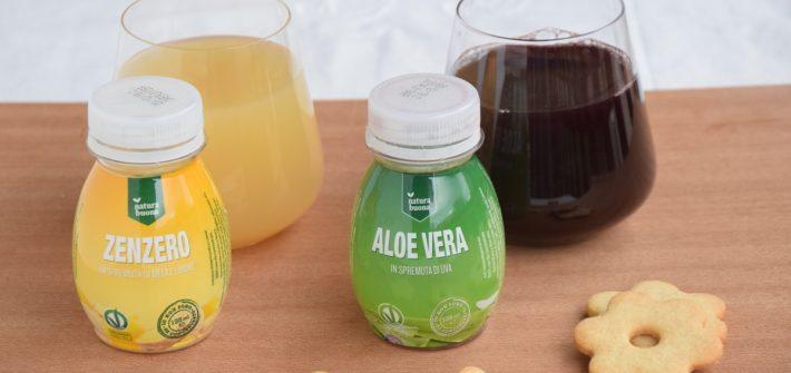 NATURA BUONA le Spremute 100% Naturali di Aloe Vera e Zenzero