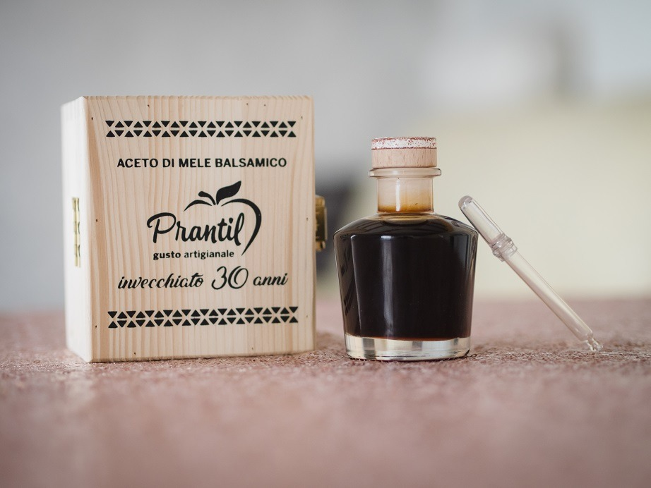 Aceto di Mele Balsamico Prantil – 100% biologico Gusto Artigianale