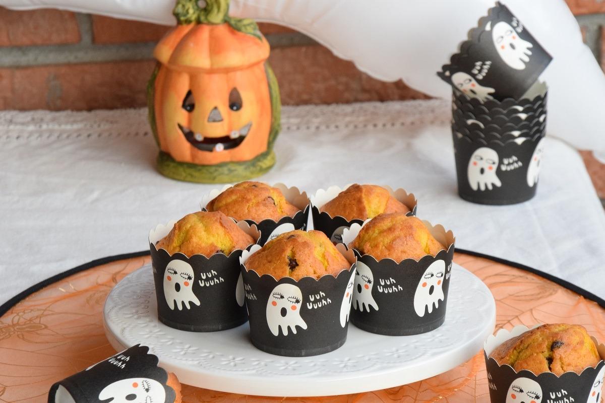Muffin alla Zucca e gocce di cioccolato