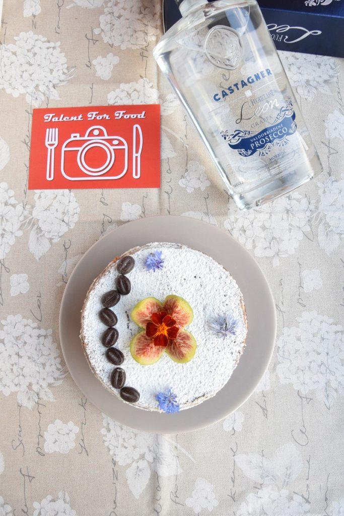 Naked Cake al Caffè con Maraschino e Crema di robiola di capra