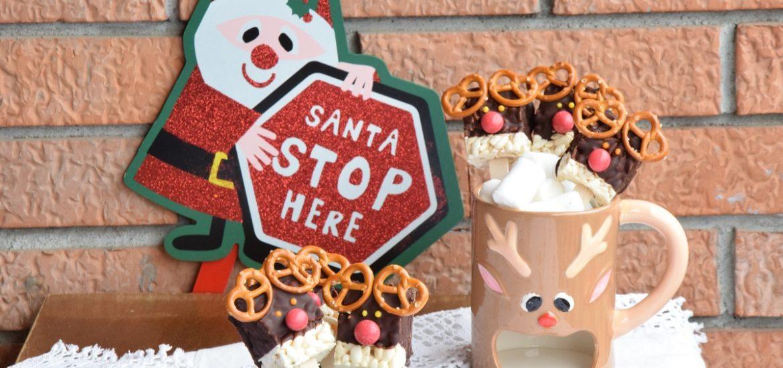 Le mie Reindeer Crispie Pops per Il Club del 27