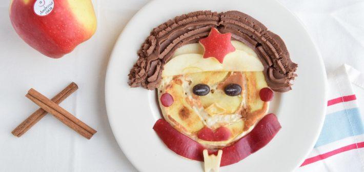 Pancake Vegan alle Mele Ambrosia e Cannella