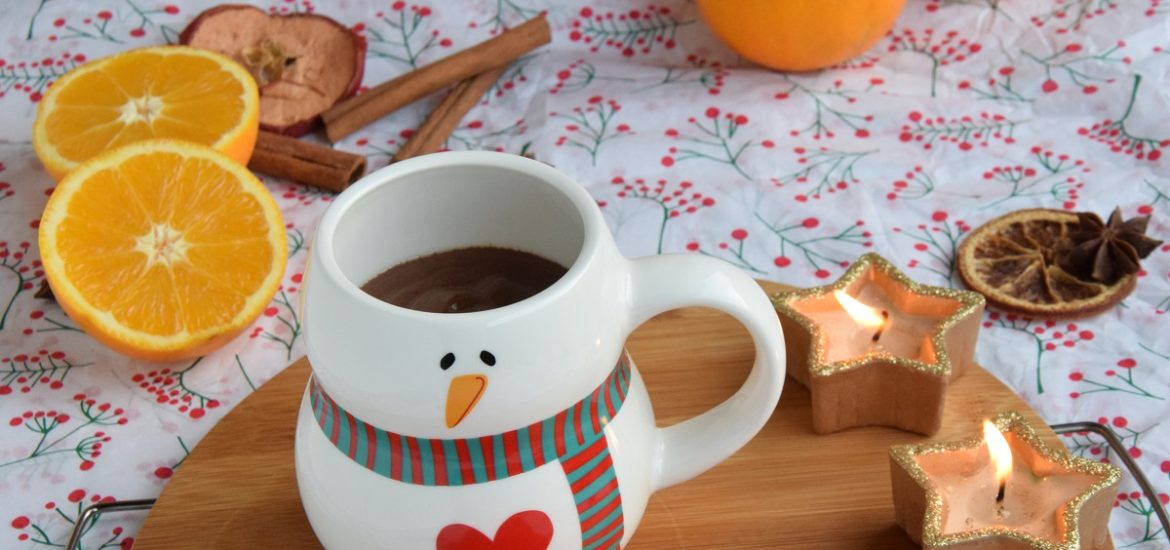 Cioccolata Calda all'Arancia. Tema del Mese MTChallenge Hot Chocolate