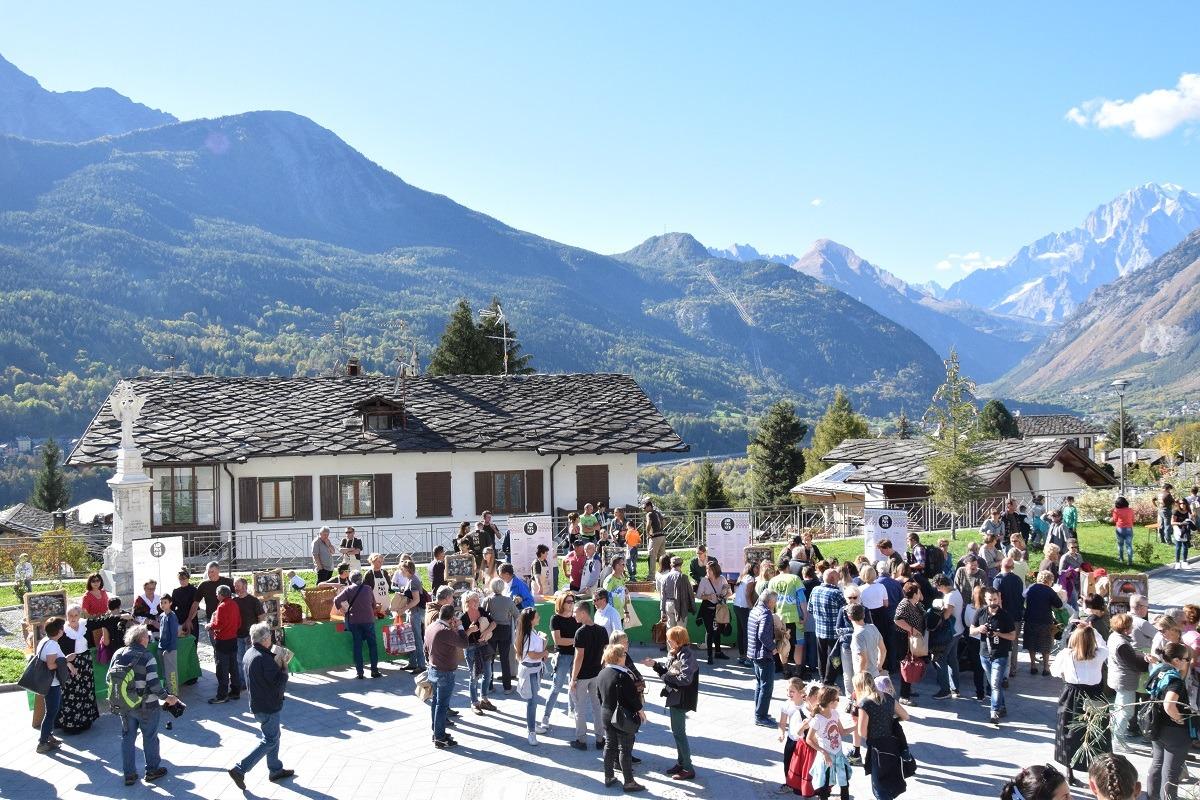 """La Salle: i Forni della Festa """"Lo Pan Ner"""" 2018 in Valle d'Aosta. Blog Tour AIFB"""