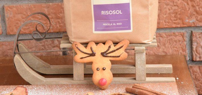 Rudolph la Renna di Babbo Natale Biscotti natalizi a forma di renna