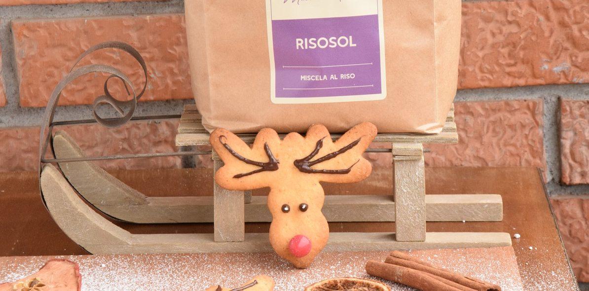 Rudolph la Renna di Babbo Natale: Biscotti natalizi a forma di renna