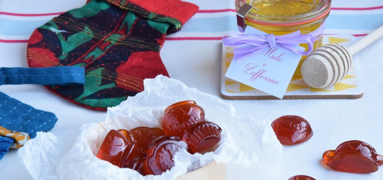 Caramelle Fatte in casa al Miele con Zafferano della Valle Erro