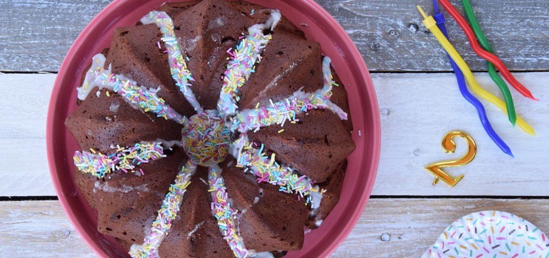 Buon Compleanno Club del 27 la mia Red Velvet Beetroot Cake per il Club!
