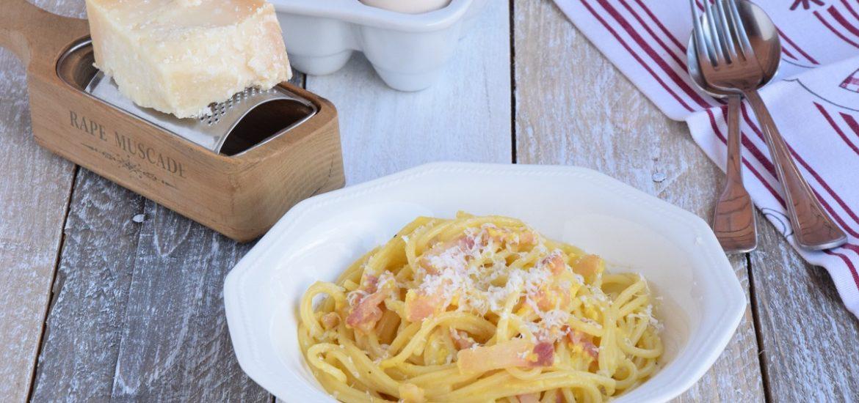 Double-Cheese Spaghetti alla Carbonara