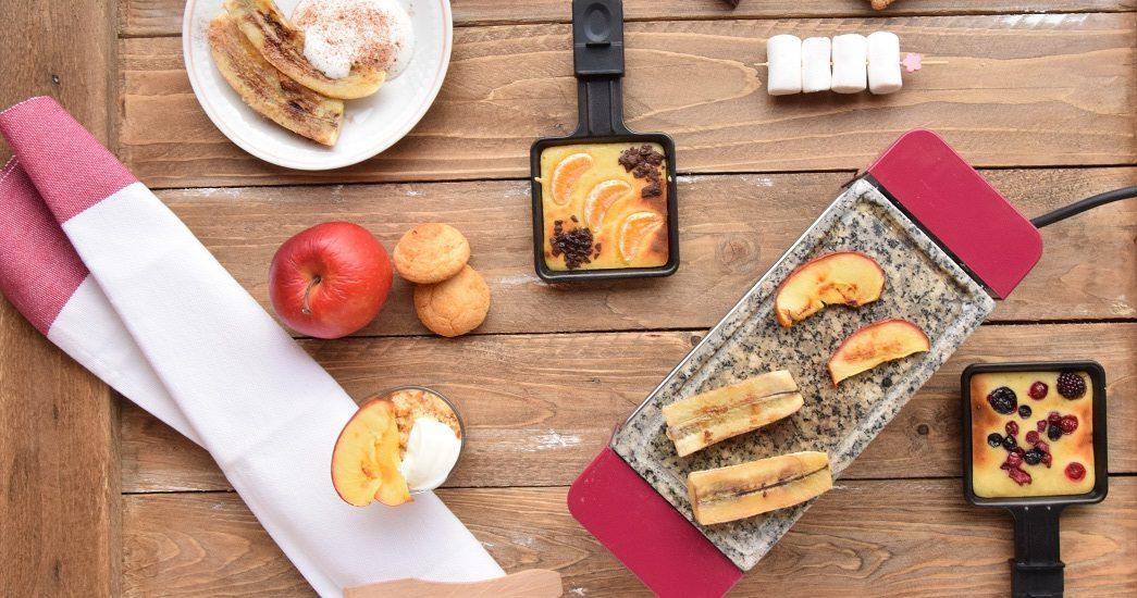 Raclette e Pierrade dolci. Cena 8 Marzo - Festa della Donna per MAG ABOUT FOOD