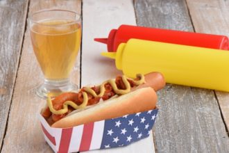 The New York Style Hot Dog. FOODIE MOVIE GREEN BOOK - MTChallenge