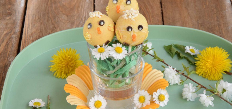 Pulcini Cake Pops - Dolcetti di Pasqua per Mag About Food