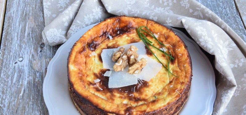 Cheesecake Salata al Parmigiano e Ricotta per MAG ABOUT FOOD