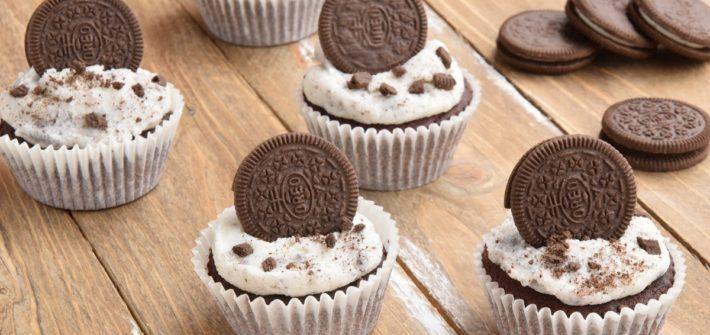 Oreo Cupcakes per PASSIAMOLE IN RIVISTA