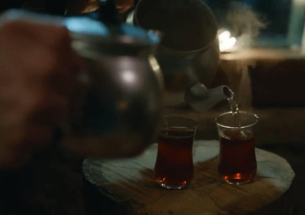 Tè turco - Bitter Sweet Ingredienti d'Amore Dolunay