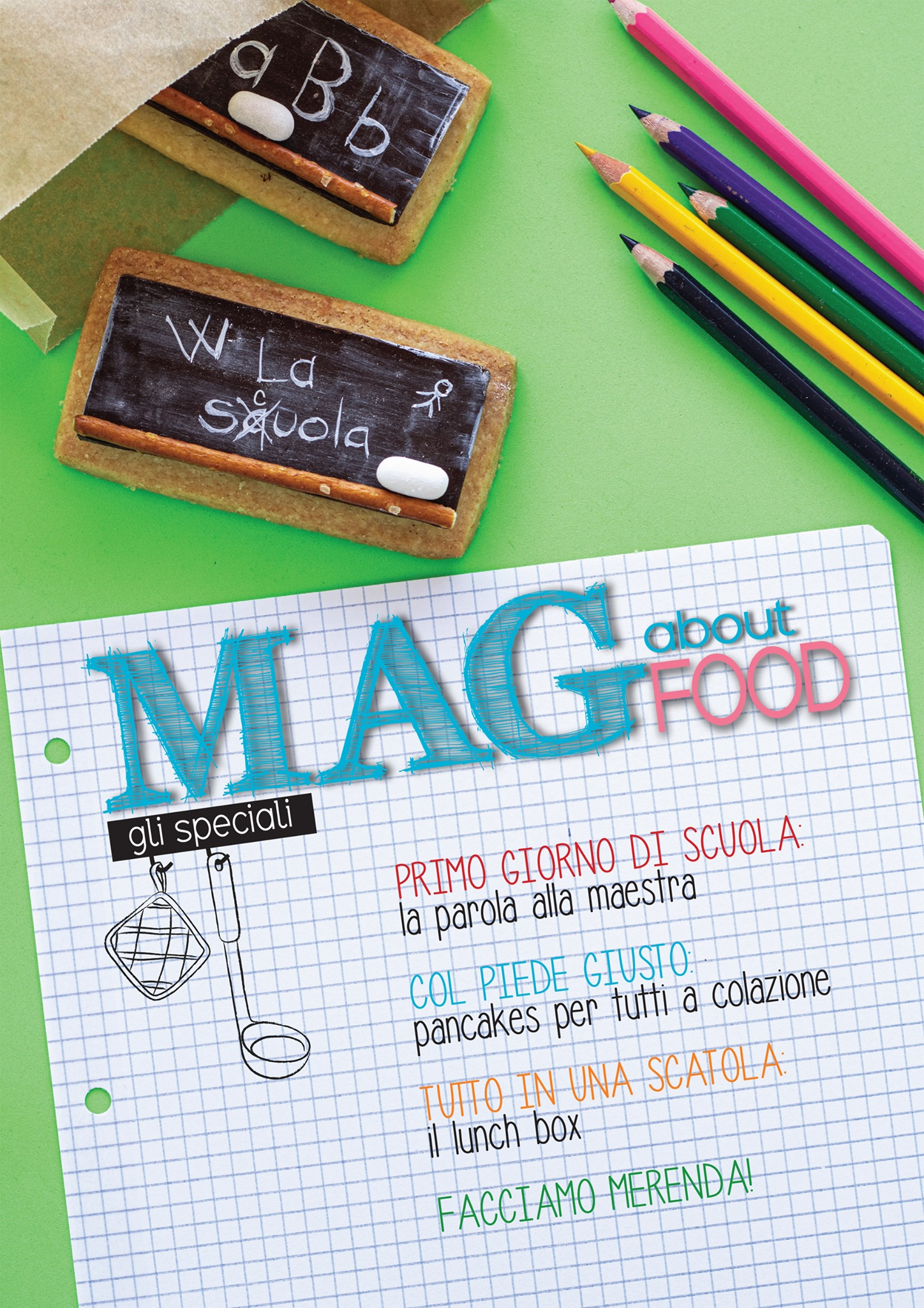 Back to School – Tutti a Scuola con MAG about FOOD by MTChallenge