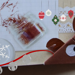 Origami di Natale – Renna Segnalibro. Rudolph Christmas Origami Bookmark