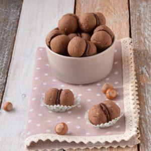Baci di Dama al Cioccolato per l'Italia nel Piatto