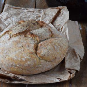 Pane senza impasto – No Knead Bread. Ricetta con lievito di birra