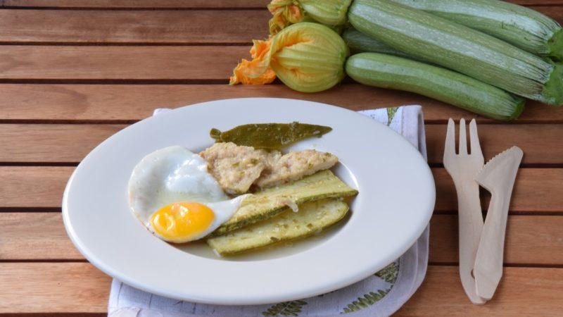 Uova, Pollo e Zucchine in Carpione per l'Italia nel Piatto