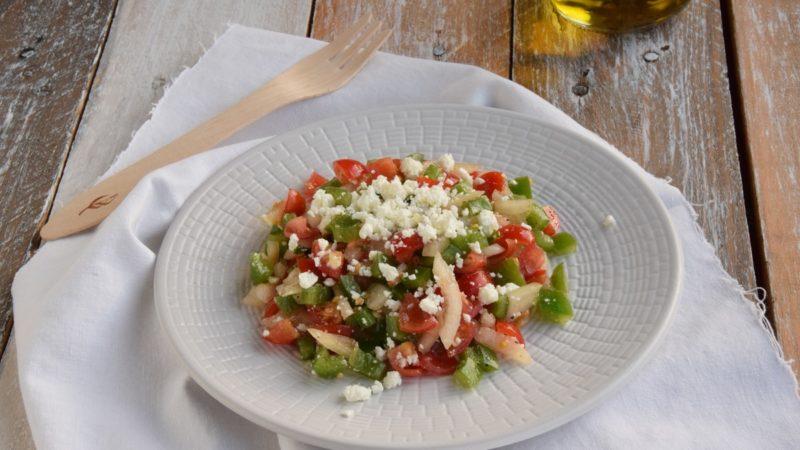 Çoban Salatası: Insalata del Pastore – Bitter Sweet: Ingredienti d'Amore