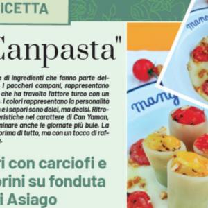 """La Ricetta della """"CanPasta"""" in esclusiva sul Magazine di DayDreamer"""